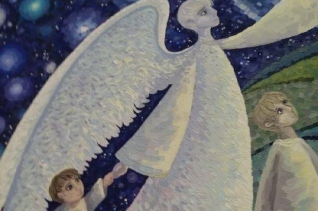 Арт-проект «Ангелы Мира» включает 242 картины из 21 страны