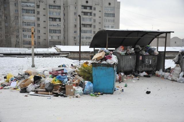 Читинцы неоднократно жаловались на замусоренность городских дворов