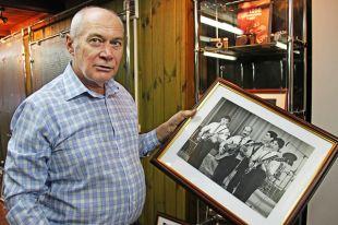 Исторический снимок – молодой Розенбаум и трио «Секрет».