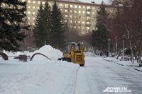 Видео сняли на площади Ленина.