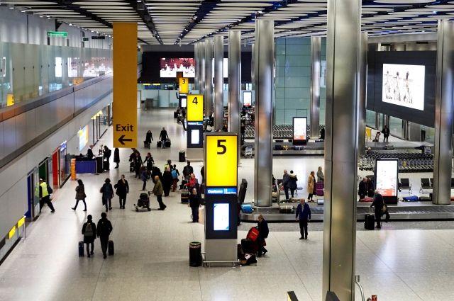 Аэропорт Хитроу остановил полеты из-за неопознанного дрона
