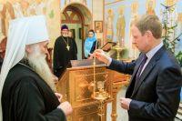 митрополит Сергий и Виктор Томенко