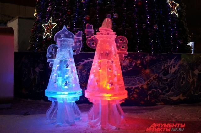 Вновь покататься с горок в ледовом городке можно будет 10 января.