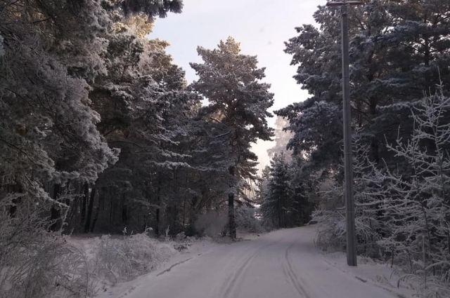Днём температура воздуха по республике -7…-12°С, в Ижевске -9…-11°С.