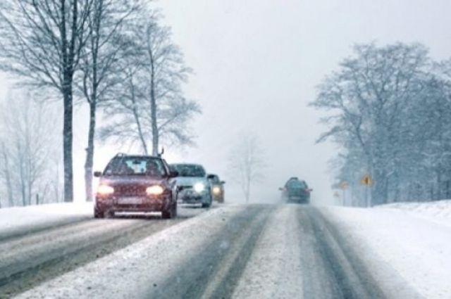 Водителям рекомендуют по возможности отказаться от дальних поездок.