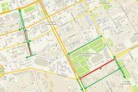 Работы проволятся в рамках реконструкции улицы Революции.