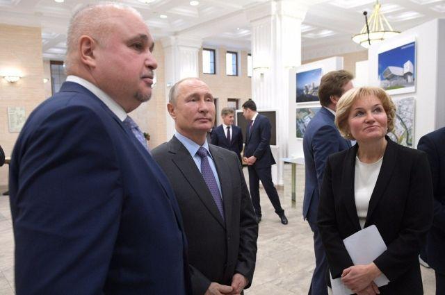 Губернатор Кузбасса представил проект кемеровского квартала искусств.