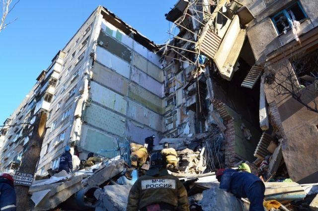 Седьмой подъезд был уничтожен взрывом, а 8 подъезд демонтируют принудительно.