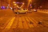 В результате дорожного инцидента пассажиры автомобиля Kia – четырехлетняя девочка и семилетний мальчик – получили травмы.