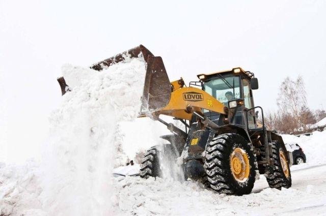 В ГИБДД Ноябрьска недовольны тем, как убирают снег