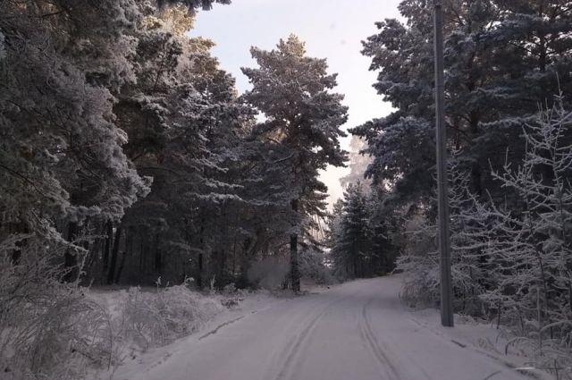 Чтобы выжить, туристка выкопала яму в снегу и развела костёр с помощью зажигалки.