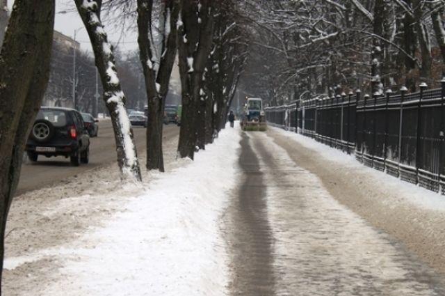 В Калининграде появятся четыре новые машины для уборки улиц