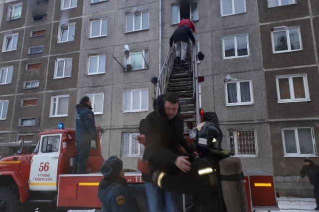 Количество пожаров выросло в Хабаровске в новогодние праздники.