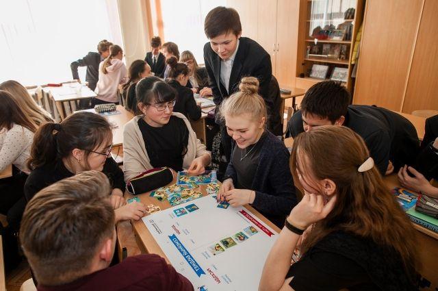 Тюменские школьники участвуют в олимпиаде
