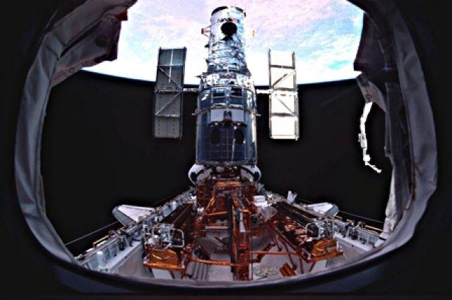 На орбитальном телескопе «Хаббл» сломалась одна из камер