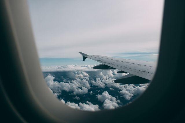 В Москву самолет прилетел с 1,5 часовым опозданием.