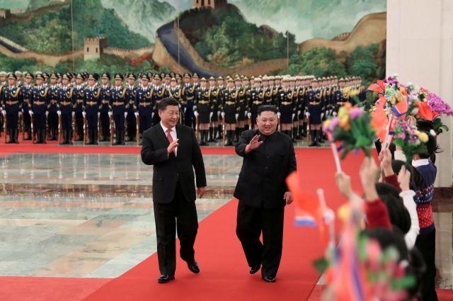 Ким Чен Ын заявил, что приложит усилия для результативной встречи с Трампом
