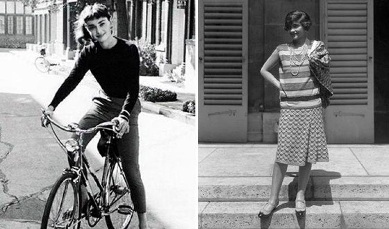 Одри Хепберн - так называется еще одна страница славы Шанель. Именно сотрудничество с этой актрисой возвело дизайнера в культ. Маленькое черное платье в