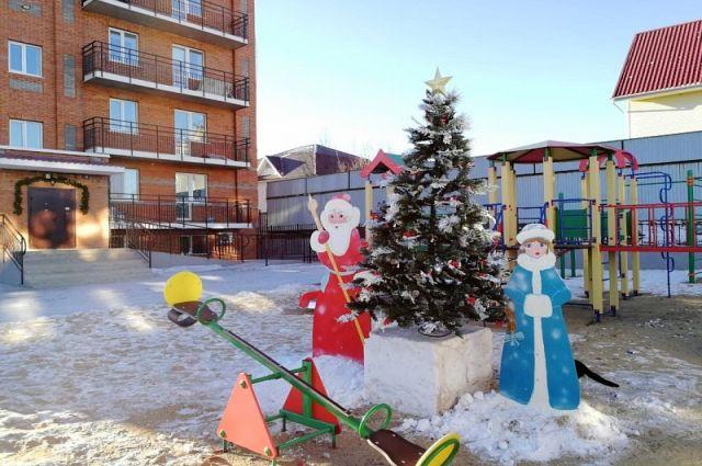 Самый нарядный двор выбрали в Хабаровске.