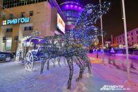 Омск будет радовать горожан своим украшением последние выходные.