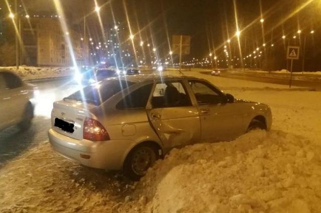 Оренбурженка впала в кому после ДТП на ул. Монтажников