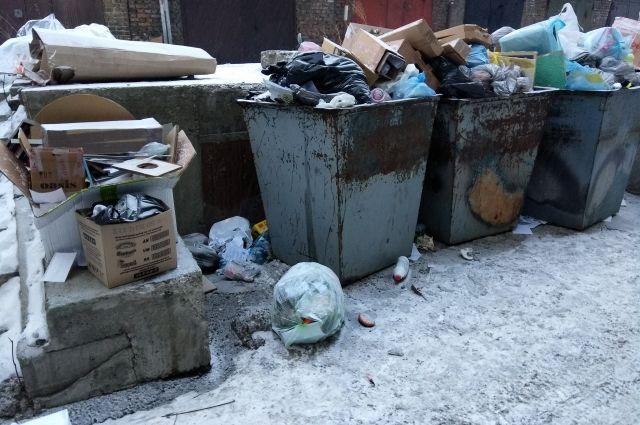 Новосибирских юрлиц призвали активнее заключать договоры на вывоз мусора