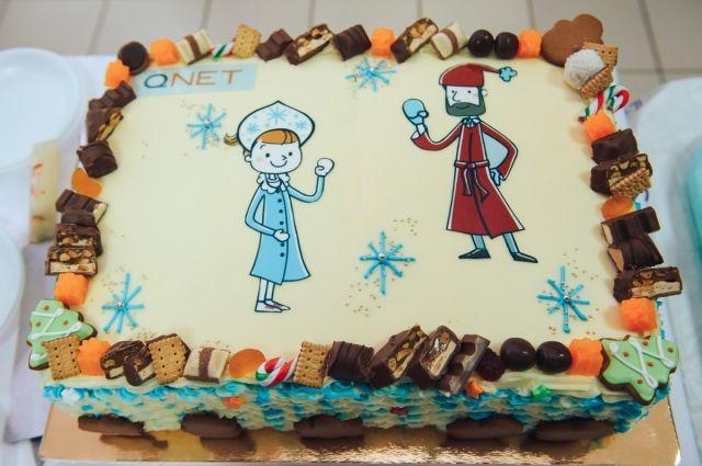 Дед Мороз заглянул в социально-реабилитационный центр «Снегири»