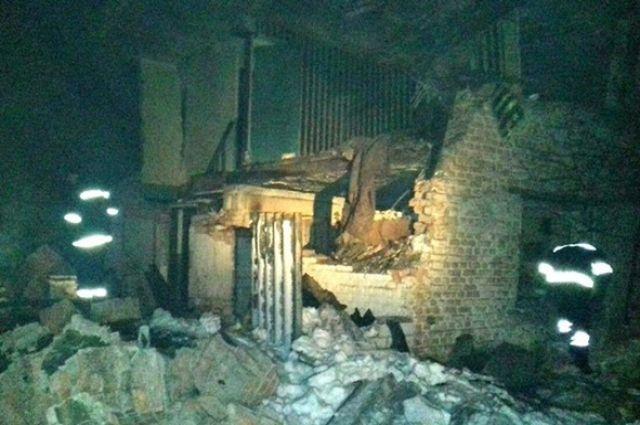 В селе Зарог Оржицкого района произошел взрыв в жилом доме, в результате которого погиб мужчина.