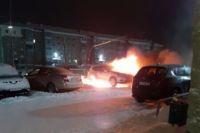 С начала года на Ямале сгорели уже четыре машины