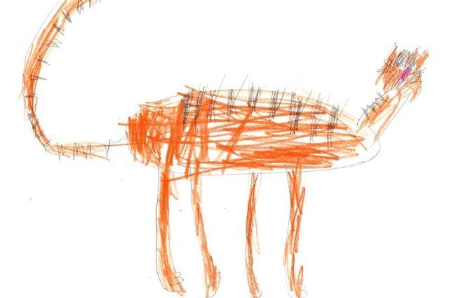 Мальчик нарисовал эскизы для оформления больниц.
