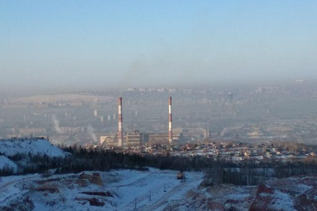С 25 декабря до 31 декабря в Красноярске действовал режим неблагоприятных метеорологических условий.