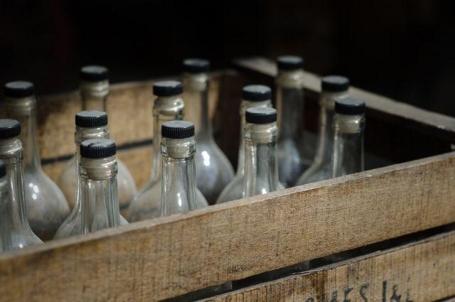 В Черняховске изъяли алкоголь без акцизных марок на четверть миллиона рублей