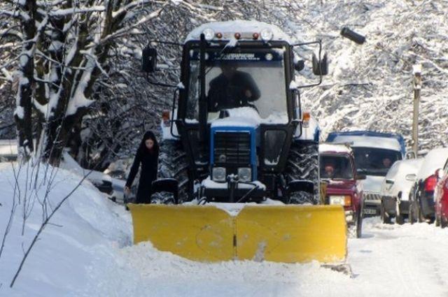 В Кировоградской области ограничили движение всех видов транспорта