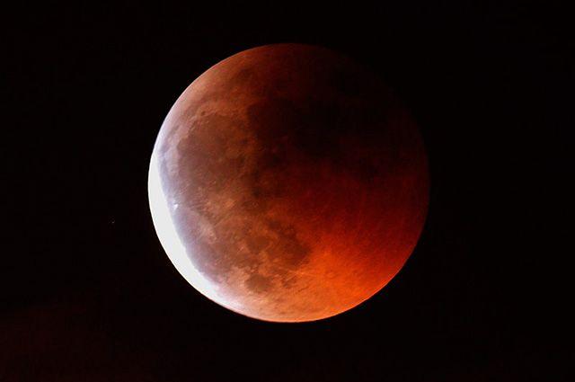Последняя кровавая Луна до 2021 года: ученые сообщили дату затмения