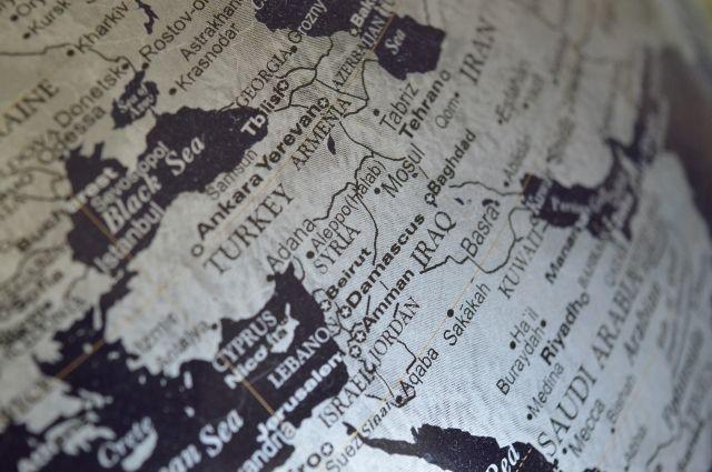 ВСирии обвинили ВВС Израиля вобстреле окрестностей Дамаска