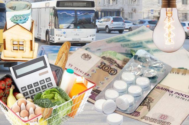 В РФ  увеличились  цены навсе основные товары