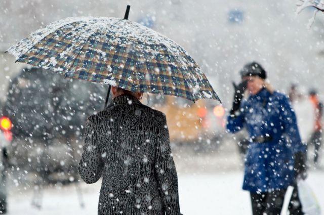 В Украине в понедельник, 14 января, ожидается снег, мокрый снег и даже дожди, а также порывистый ветер.