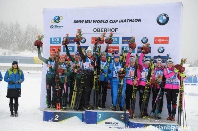 Впервые с 2012 года женская сборная победила в эстафете.