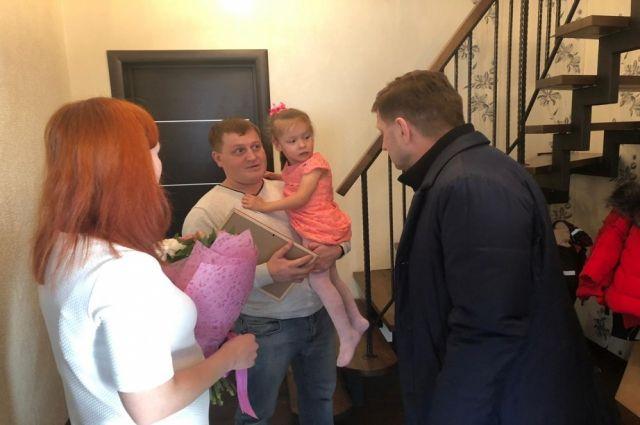 Сергей Фургал исполнил новогодние желания трех детей.