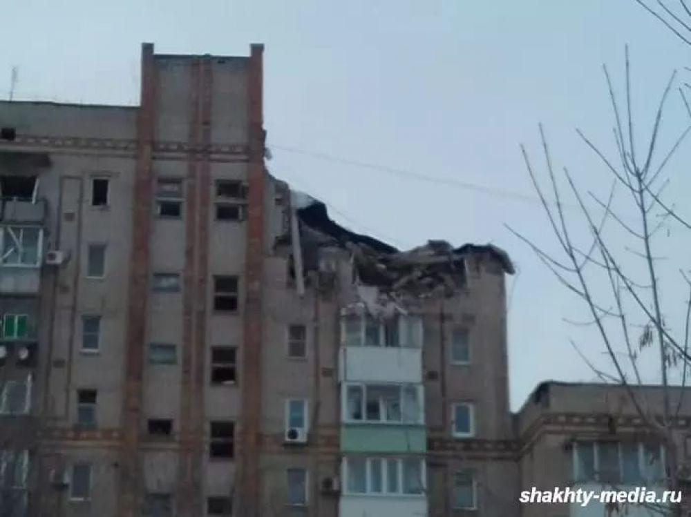 Пострадал от взрыва и соседний дом