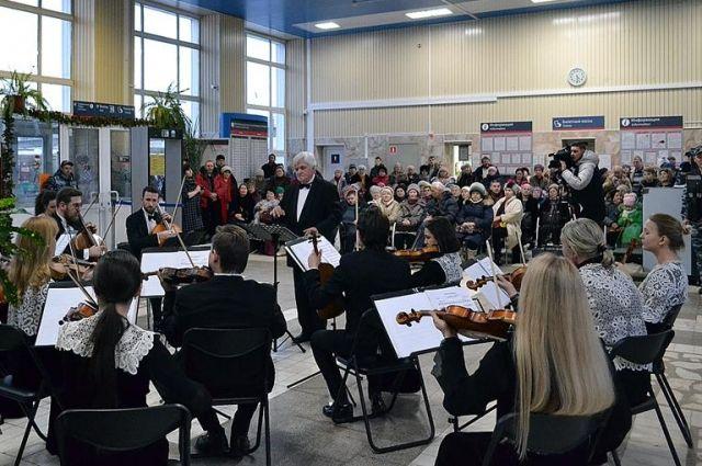 Концерт прошел в рамках XIII Зимнего суриковского фестиваля искусств.