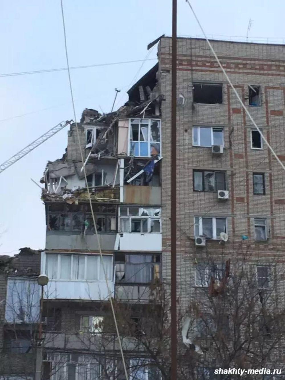 Пострадавшие этажи восстановлению не подлежат
