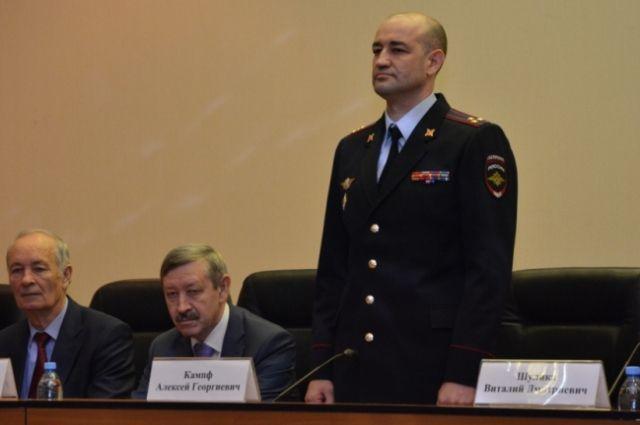 УМВД Оренбуржья возглавил полковника полиции Алексей Кампф