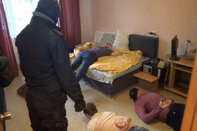 Полиция Калининграда взяла штурмом наркопритон