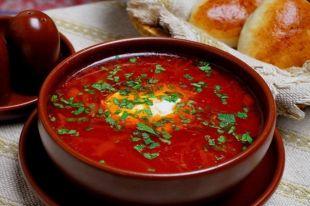 Украинский борщ вошел в ТОП-3 самых популярных блюд в мире
