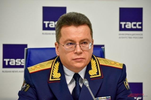 Глава Уральского следственного управления на транспорте СК России Петр Решетников.