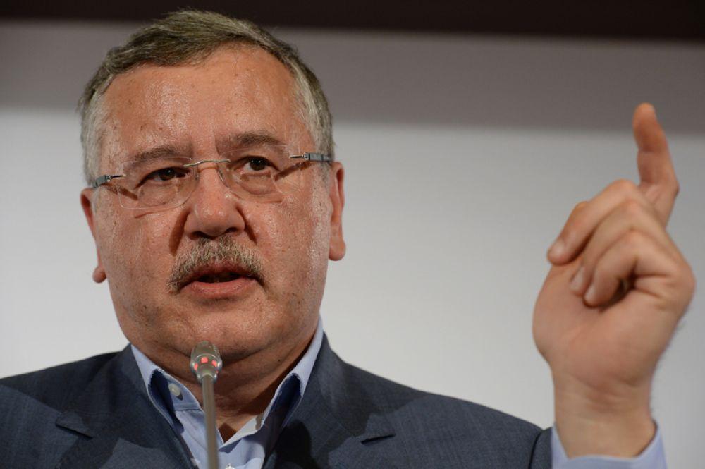 Анатолий Гриценко, лидер партии «Гражданская позиция».