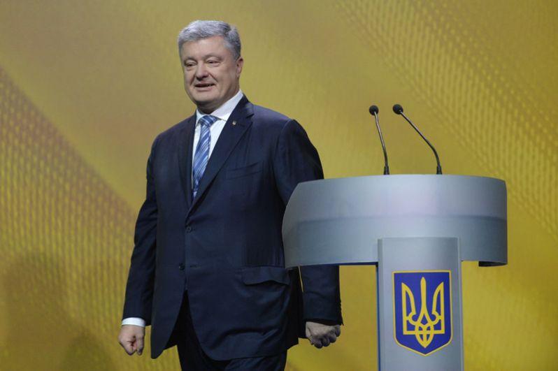 Петр Порошенко, действующий президент Украины.