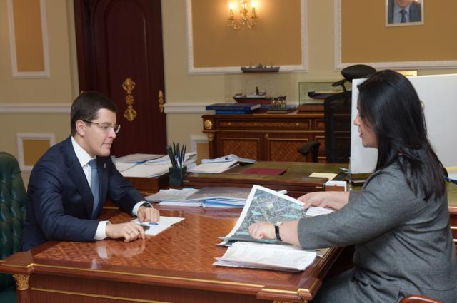 Губернатору Ямала рассказали о развитии Лабытнанги в 2019 году