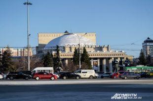 Пробки в Новосибирске чуть меньше, как в Москве.